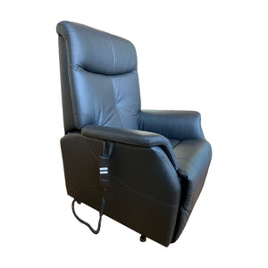 Smart Leather Granada Lifter Recliner Chair Side View