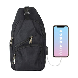 Anti Theft Day Pack Regular - Black
