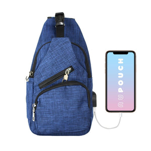 Anti Theft Day Pack Regular - Navy