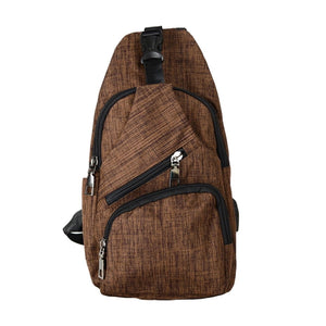 Anti Theft Day Pack Regular - Brown