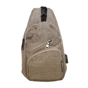 Anti Theft Day Pack Regular - Tan