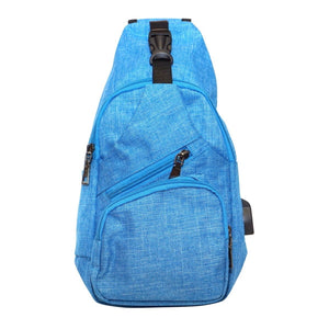 Anti Theft Day Pack Regular - Light Blue