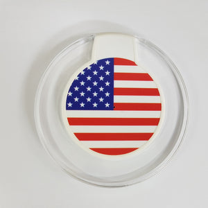Wireless Charger - US Flag