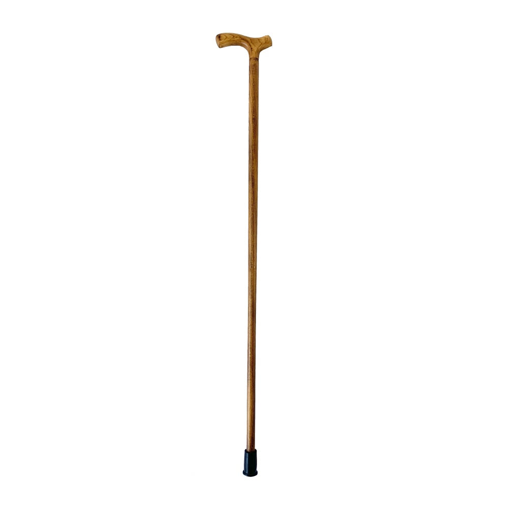Scorch Fritz Mens Wooden Walking Stick With T Handle