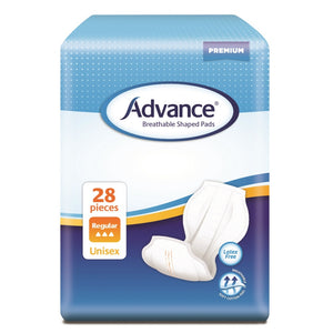 Advance Breathable Shaped Pads Regular