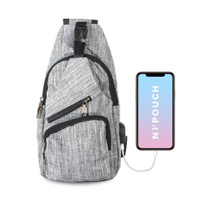 Anti Theft Day Pack Regular - Grey