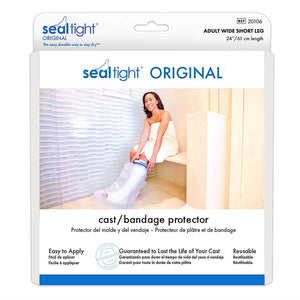 Seal Tight Original Cast and Bandage Protector Adult Wide Short Leg