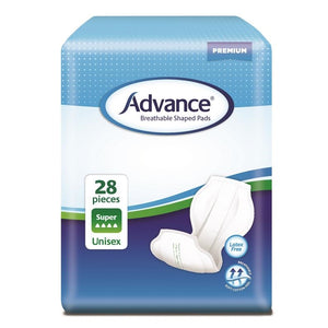 Advance Breathable Shaped Pads Super