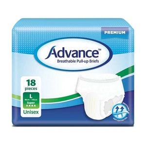 Advance Breathable Pull-up Briefs L Super