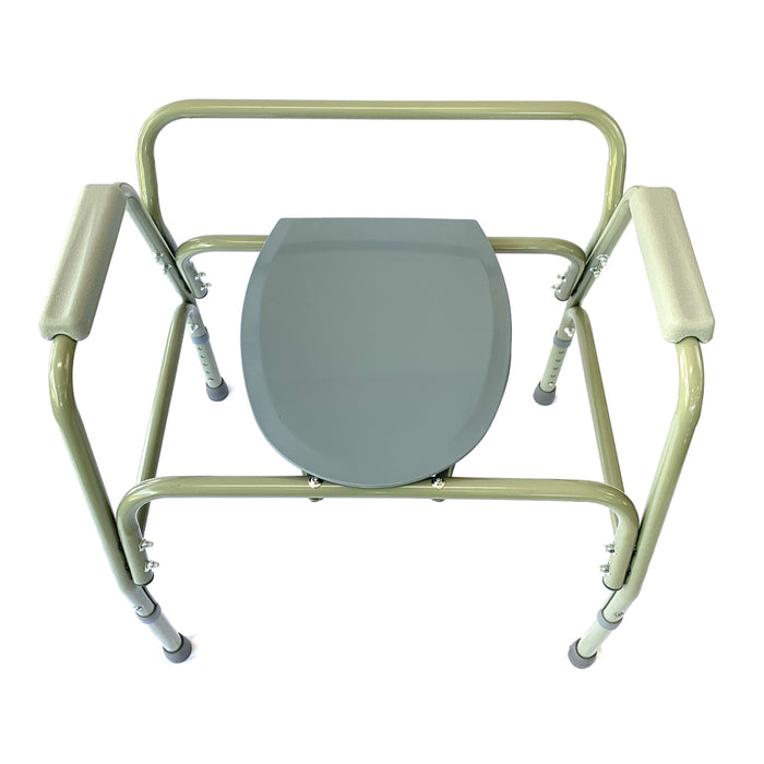 Wairoa Bariatric Steel Commode