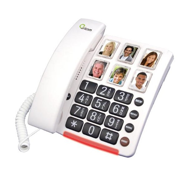 Oricom Care80 Amplified Phone with Picture Dialing