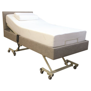 Homecare Hi-Lo Trendelenburg Adjustable Bed with Mattress