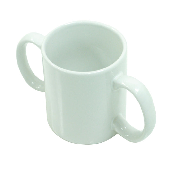 Two Handled Ceramic Mug