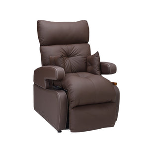Cocoon Lift Recliner Chair - 1 Motor - Chocolate