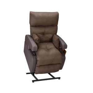 Cocoon Lift Recliner Chair - 1 Motor - Velvet Brown