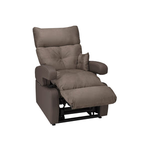 Cocoon Lift Recliner Chair - 1 Motor - Velvet Raw