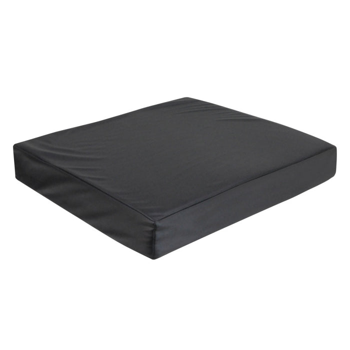 Vinyl Wheelchair Cushion with Memory Foam