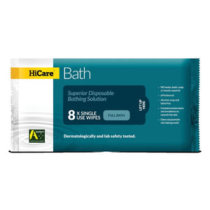 HiCare Bath Resealable Wash Cloths