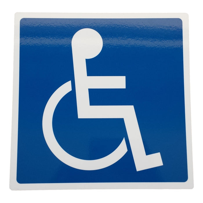 Plastic Disability Parking Sign
