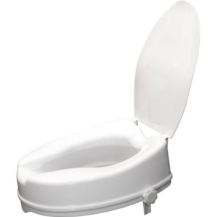 Viscount Raised Toilet Seat 4""
