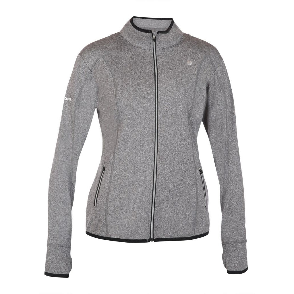 Pure Lime Athletic Jacket Jacket 3960 Charcoal Melange