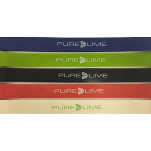 Pure Lime Exercise Loop Band - training elastic Loop Band 9900 Assorted colours