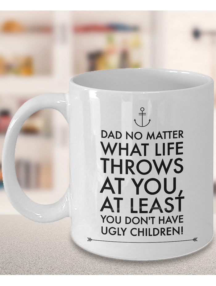 dad coffee mug - funny father's day gift