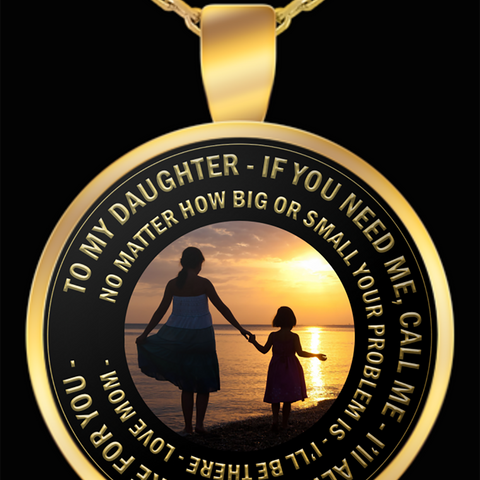 Daughter Necklace - Gift For Daughter From Mom -