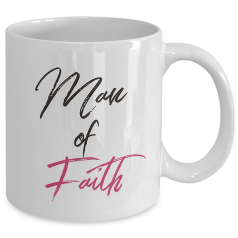 Christian Mug For Men - Christian Husband Or Christian Boyfriend Ceramic Mug -