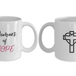 "CASES Of Christian Womans Coffee Mug - ""Woman Of Hope"""
