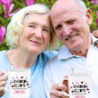"Grandma Coffee Mug - Funny Grandpa Or Grandma Gift - Grandparents Mug - ""Grandkids Welcome"""