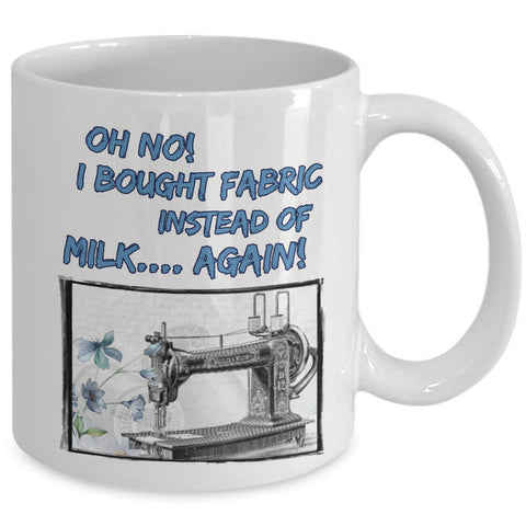 Sewing Coffee Mug - Funny Sewing Lover Or Quilters Gift -