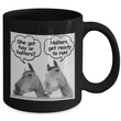 "Horse Coffee Mug - Funny Horse Lovers Gift - ""She Got Hay Or Halters?"""