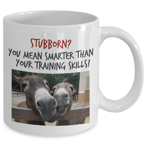 Donkey Mug - 11oz Ceramic Cup - Gift For Donkey Lovers - Donkey Gift -