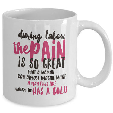 Mom Coffee Mug - Funny Gift For Moms - Pregnancy Mug -