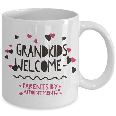 Grandma Coffee Mug - Funny Grandpa Or Grandma Gift - Grandparents Mug -