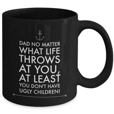 Dad Coffee Mug - Funny Fathers Day Gift Idea From Son Or Daughter -