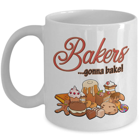 Baking Coffee Mug - Baker Gift Idea -