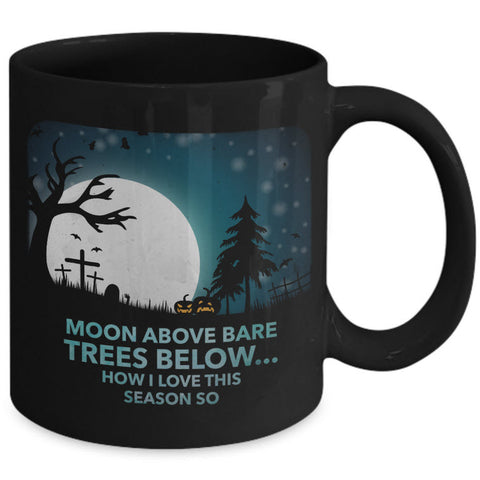 Halloween Coffee Mug- Halloween Gift Idea For Adults -
