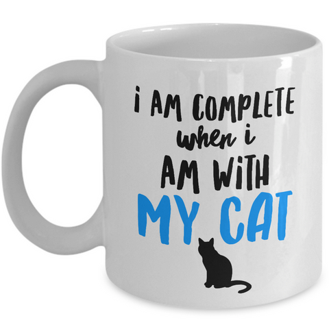 Cat Coffee Mug -Cat Lover Gifts For Women And Men -