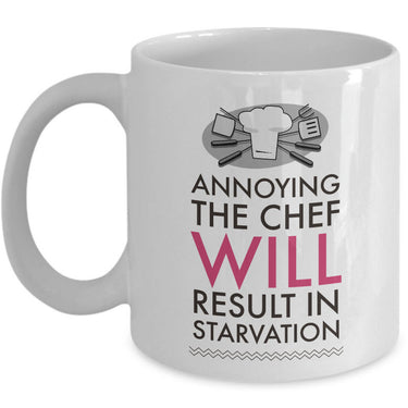 Chef Coffee Mug - Unique And Funny Gift For Chefs -