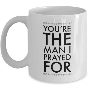 Christian Coffee Mug - Valentines Day Or Anniversary Gift Idea For Men -