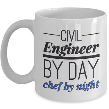 Civil Engineer Mug - Funny Civil Engineering Gift For Civil Engineers-