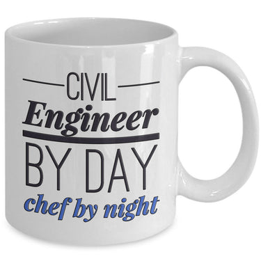 Civil Engineer Coffee Mug - Funny Civil Engineering Gift For Civil Engineers-