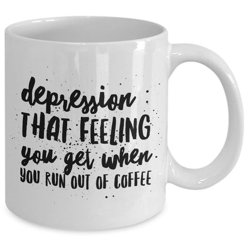 Coffee Lover Mug - Funny Coffee Lovers Gift - Sayings Mug -