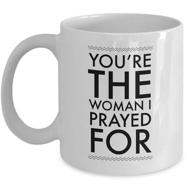 Christian Coffee Mug - Valentines Day Or Anniversary Gift Idea For Women -