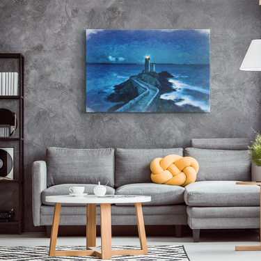 Lighthouse Wall Art - Lighthouse Canvas Print Wall Decor - Lighthouses Gifts For Women Or Men