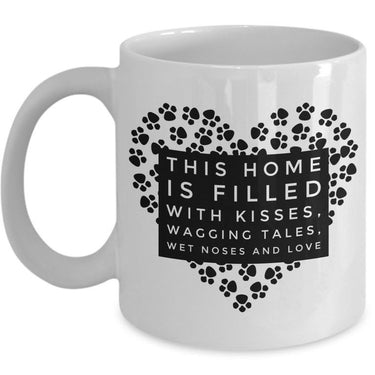 Dog Coffee Mug - Dog Lovers Gift Idea For Dog Owners -