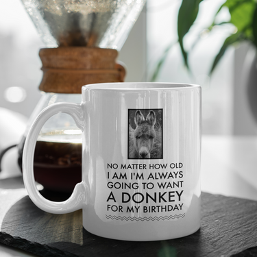 Donkey Mug - Birthday Gift For Donkey Lovers - Donkey Gifts For Women -