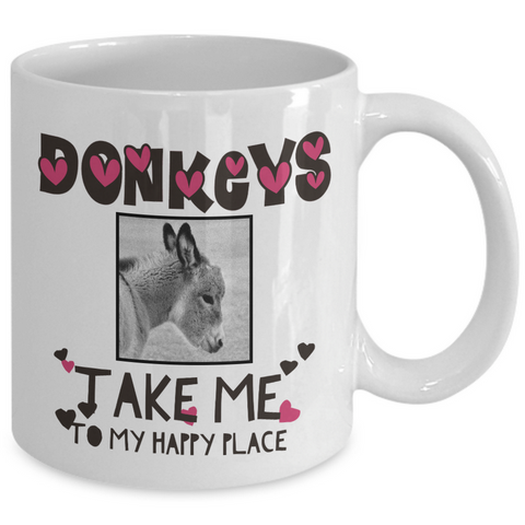 Donkey Coffee Mug - Gift For Donkey Lovers - Donkey Gifts -